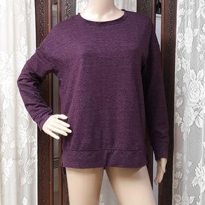 Violet Purple 32 Degree Heat Fleece Top